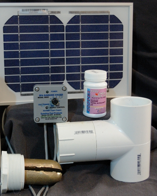 Solar Powered Deluxe Spa Ionizer Model Ssds Treats 2 000 Gallons Ebay